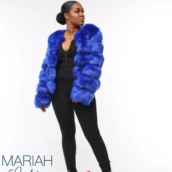 ever popular detailed images best service Blue Fox Fur Coat